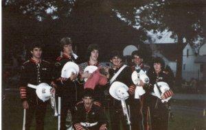Band night, 1984.