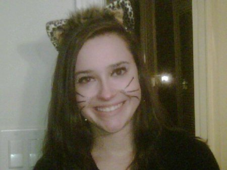 Cat costume. Last year.