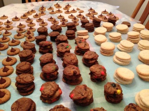 We've only just begun. Lemon Snowflakes, Chocolate Chip, Ginger Snaps and Peanut Butter Blossoms, oh my!