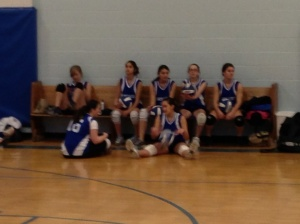 Archangels team cools its heels waiting for the ref.