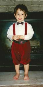 Dominic, December 1997. Too cute!