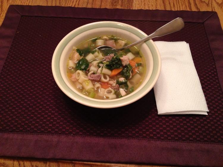 Turkeyy Noodle Soup