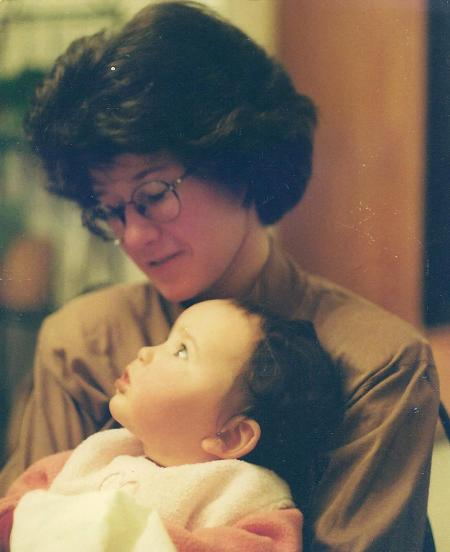 Me and Catherine, Feb. 8, 1997.