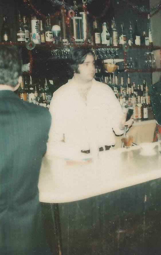 Hey, bartender! Basil, 1973.