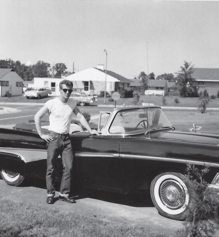 My dad, Mike Salvatore, in 1959.