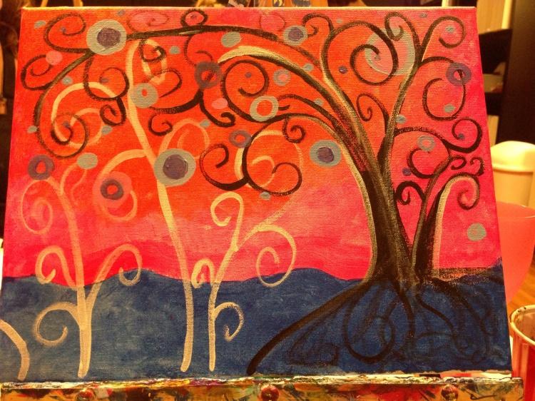 "My ""Vibrant Tree."""