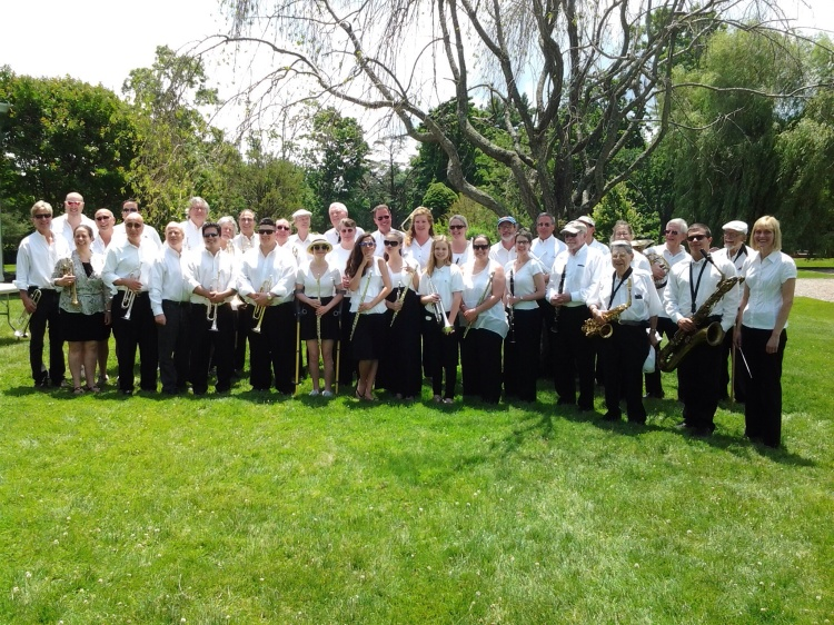 The 2014 Rye Town Community Band.