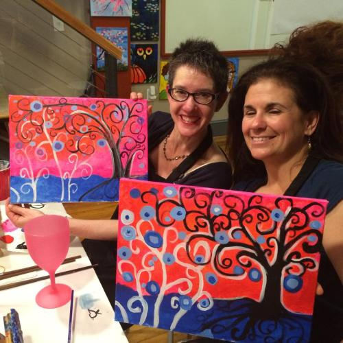 Showing off our work.