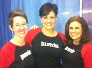 Me, Pina and Kristen at the Big East halftime demo in 2011.