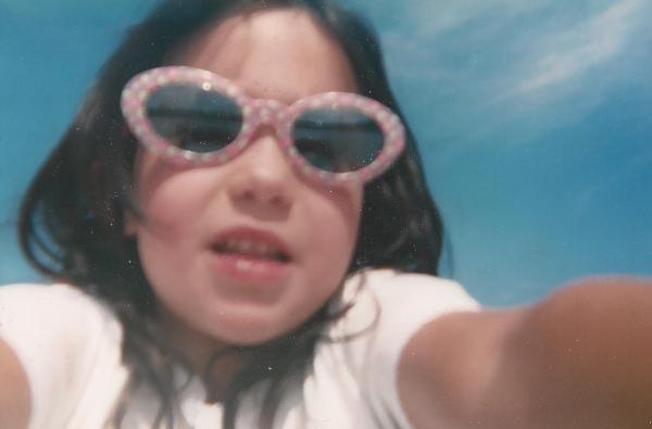Catherine selfie, 2002
