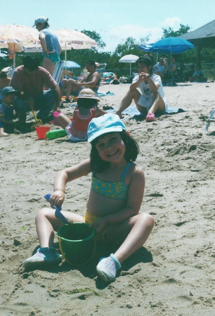 July beach