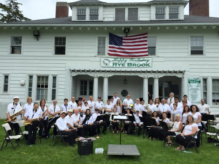 Rye Town Community Band, June 20, 2015.