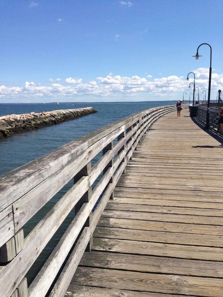 ... short pier. Rye (NY) Playland.