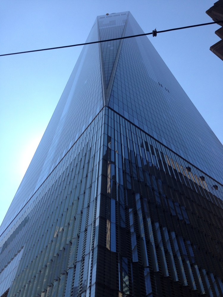 One World Trade Center in New York. Last week, we made our way to the observatory.